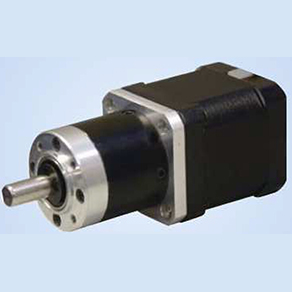 Stepper motor with gearbox deelat industrial canada for Stepper motor gear box