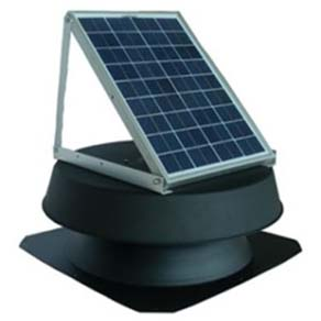 Solar Powered Attic Fans and Vents