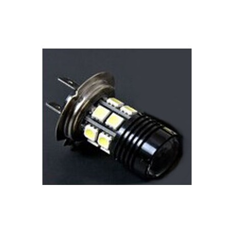 H7-12SMD-505+3W High-Power LED Headlight - Red 4500-6000K_D1161637_main