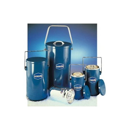 Dewar Flask with Lid and Handle - 4.5L - Blue Enamel_D1162754_main