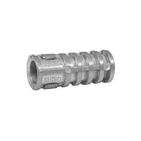 "1/4"" Lag Shield Shell Expansion Anchor - Length Short, - Drill Dia. 1/2"" - Pkg Qty. 250_D1165325_main"