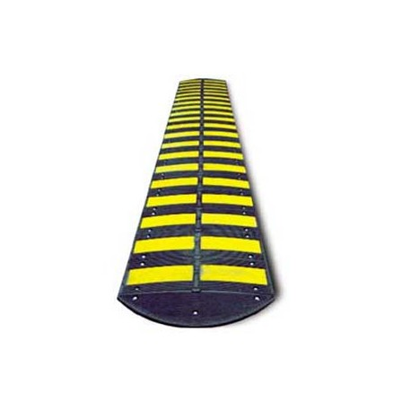 "Rubber Speed Bump - Middle Section - 19.7"" x 19.7"" x 2.2""_D1146886_main"
