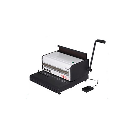Electric Double Wire Book Binding Machine - 135 Sheets_D1154861_main