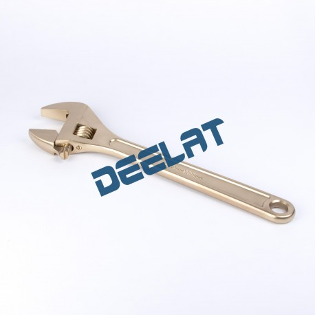 Non-sparking Aluminium-Bronze Wrench Adjustable- 55*450 mm_D1140082_main
