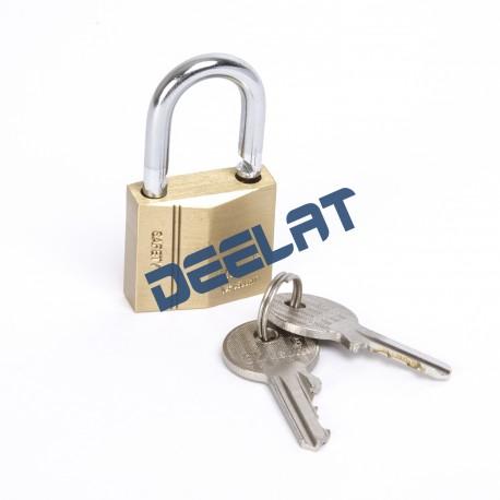 Lock - Brass - Diamond Type - 4-Pin Tumbler - 30 x 27mm_D1140858_main