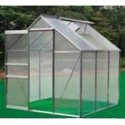 Aluminum Greenhouse with 3 Rooms and 1 Window - 190*190*195cm - PC Panels_D1150951_1
