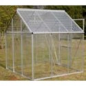 Aluminum Greenhouse with 3 Rooms and 1 Window - 190*190*195cm - PET Panels_D1150952_1