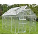 Aluminum Greenhouse with 4 Rooms and 2 Windows - 250*190*195 cm._D1150953_1