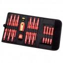 18-Piece VDE Interchangeable Screwdriver, Pliers and Cabinet Key Set_D1159047_1