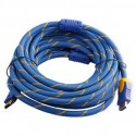 50 ft. Blue and Yellow 1.4V HDMI Cable
