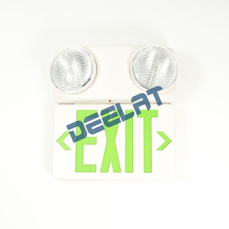 Green Exit Sign – ABS Thermoplastic – Single Face – Incandescent Emergency Light_D1142710_main