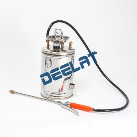 "Pressurized Sprayer - Stainless Steel - 1.3gal - 7.1"" x 7.1"" x 15""_D1150682_main"
