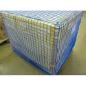 "Pallet Rack Netting - Three Bay - 1-3/4"" Square 297""L"