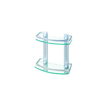 Double Layer Glass Shelf - 35cm_D1157487_main