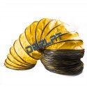 """Underground Tunnel and Mining Ventilation Duct - 15 3/4"""" (Diameter) x 32 ft (Length) - Spiral"""