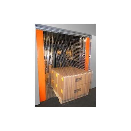 Door Curtain - Plastic Strips - 7' W X 8' H_D1040657_main