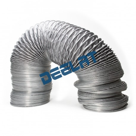 "Heat and High Temperature Resistant Duct - 12"" (Diameter) x 16 ft (Length) - 660°F_D1143784_main"