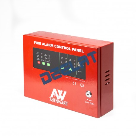 Fire Alarm System Control Panel - 2 Zone_D1142901_main
