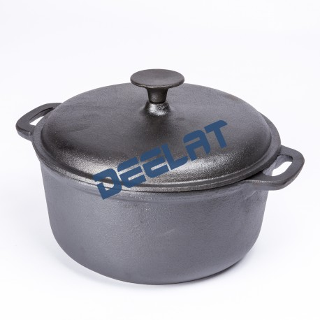 Cast Iron Grill Pot - 24x24x11 cm_D1154353_main