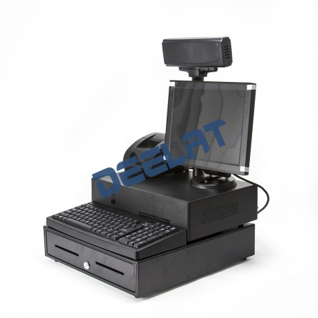 "Cash Register and POS System - 12.1"" Screen - 58mm Receipt Width - Intel Atom_D1161577_main"