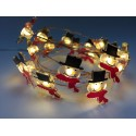 Solar Powered Christmas Light – Snowman Fairy String Light - Length 6.6ft_D1774170_1