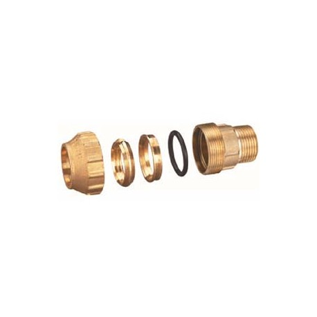 "Compression Fitting – Straight – Male – Brass – 25 mm x 3/4""_D1146045_main"
