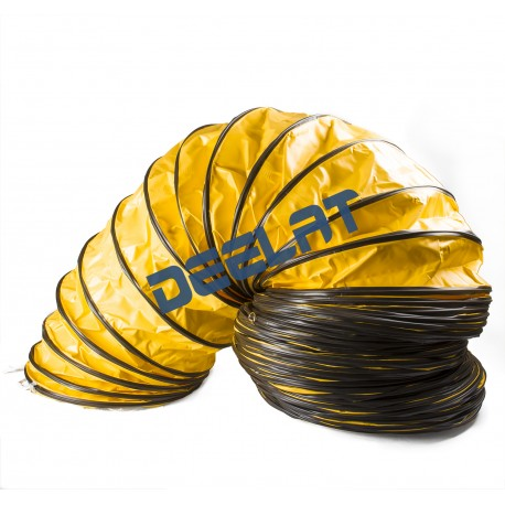 "Heat and High Temperature Resistant Duct - 12"" (Diameter) x 16 ft (Length) - 212°F_D1143768_main"