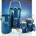 Dewar Flask with Lid and Handle – Blue Enamel - 1L_D1162752_1