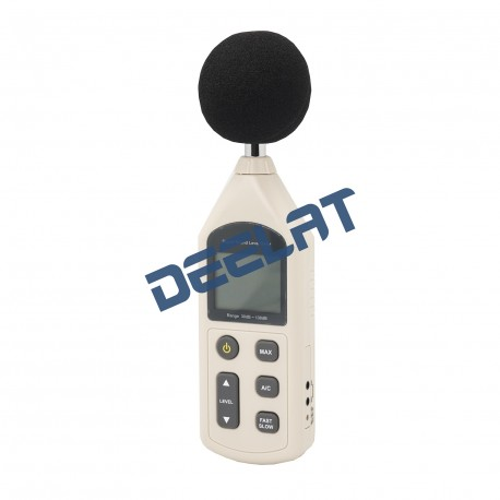 Sound Level Meter – 30 – 130 dBa (35-130 dBC) – 70 x 35 x 256 mm_D1140769_main