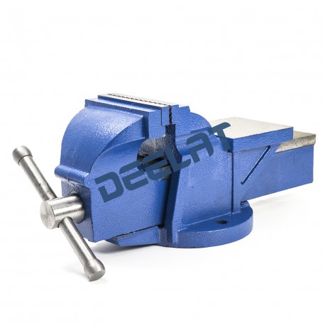"Heavy Duty Bench Vise with Anvil and Stationary Base – 5"" – Heavy Duty 83 Type_D1142615_main"