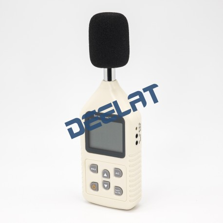 Sound Level Meter – 30 – 130 dBA (35-130 dBC) – 70 x 29 x 207 mm_D1141129_main