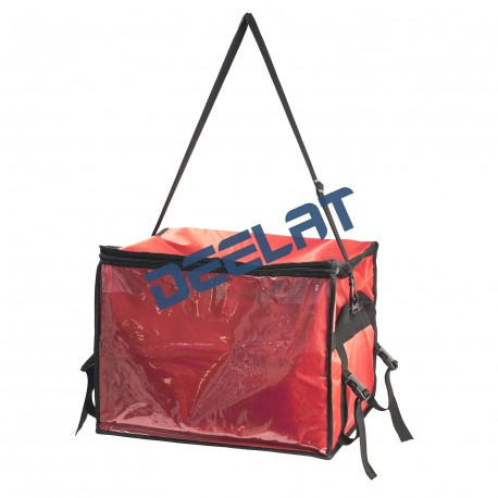 58W x 33H x 38D cm Red Insulated Nylon Food Delivery Bag_D1166445_main