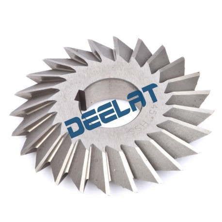 "Angle Milling Cutter - Double Angle - 2.5"" Diameter - 60 Degrees_D1142188_main"