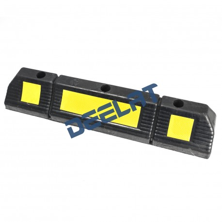 "Rubber Speed Bump - 2.4"" x 0.6"" x 0.4""_D1146894_main"