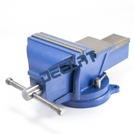 """Heavy Duty Bench Vise with Anvil and Swivel Base - 6"""" - All Steel_D1159417_main"""