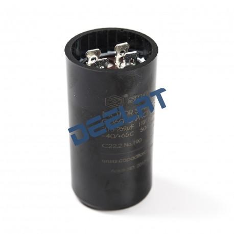 Motor Start Capacitor – 216 – 259 Microfarads - 7 x 3.6 x 7_D1157856_main