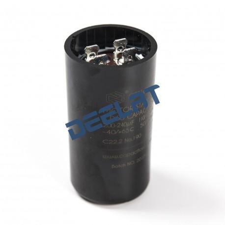Motor Start Capacitor – 200 – 240 Microfarads - 7 x 3.6 x 7_D1157855_main