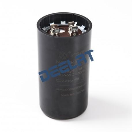 Motor Start Capacitor – 430 – 516 Microfarads - 8.5 x 4.6 x 8.5 cm_D1157865_main