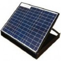 30 W, 9.6 Ah Solar Panel Battery System - 41.5x49.5x6.7 cm