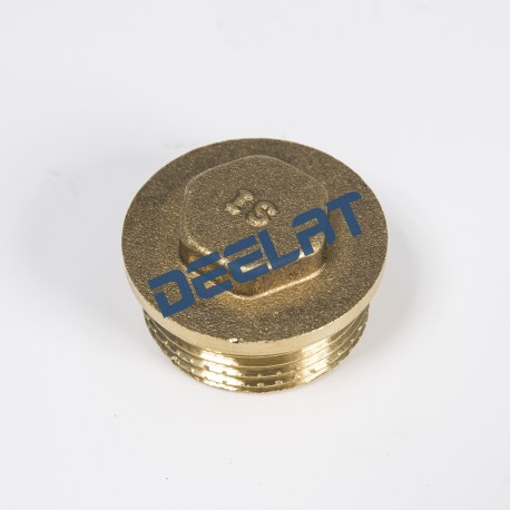 Brass Thread Fitting Cap - Male - 1-1/4''_D1146081_main