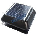 "Solar Powered Exhaust Fan and Ventilator - 12W - Adjustable - 12"" - Roof Mounted_D1155705_1"