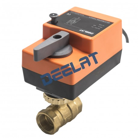 "Control Ball Valve (Fast Running) - 2-Way AC/DC - 3/4"", 5N.m, 24 V - On/Off_D1151139_main"