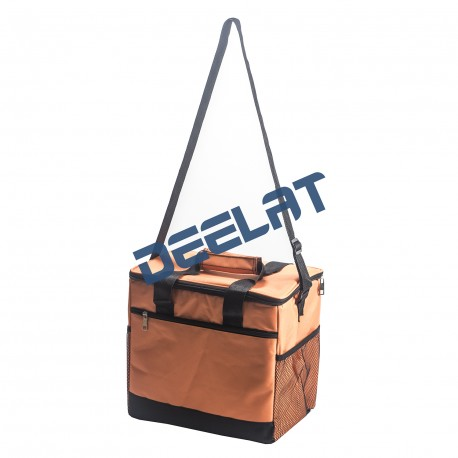 Insulated Restaurant Food Delivery Bag - Orange_D1164598_main