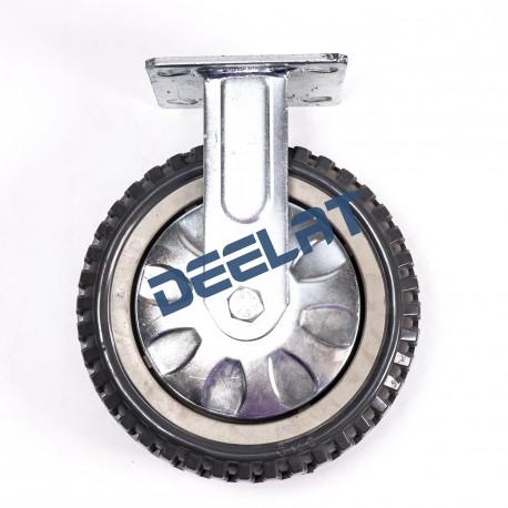 Caster – Double Ball Bearing, Anti Skid – Heavy Duty – PU – Dia. 200 mm_D1144006_main
