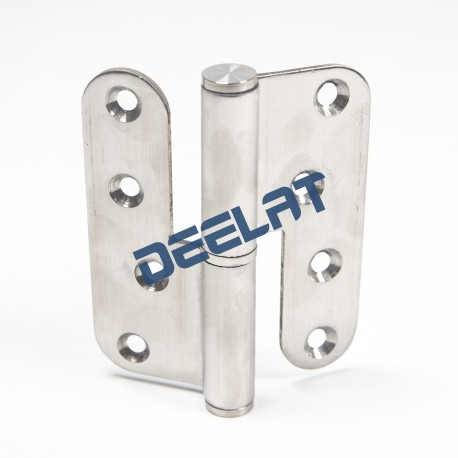 "Heavy Duty Hinge - 4"" Lift-Off - Stainless Steel, Antique Brass FInish - 3.5mm Thick - 1 Pair_D1150374_main"