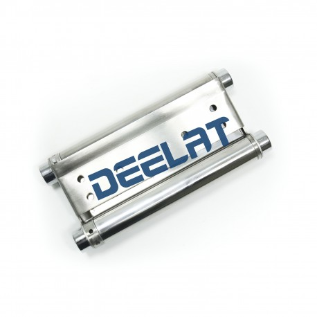 """Heavy Duty Hinge - 8"""" Double Action Spring - Stainless Steel 304, Satin Finish - 1.5mm Thick - 1 Piece_D1151585_main"""