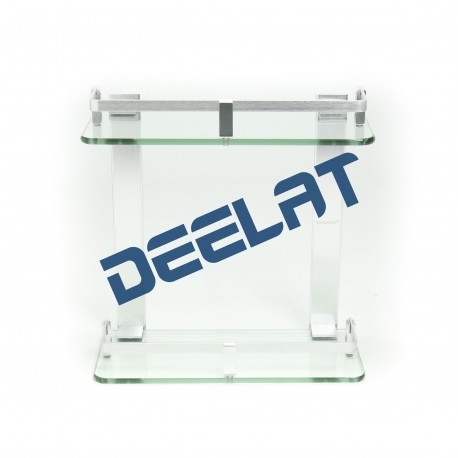 Double Layer Glass Shelf - 30cm_D1157482_main