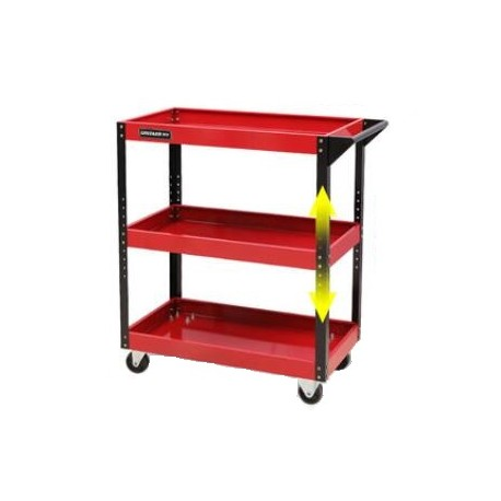 """Mobile Maintenance & Work Center Carts (Frame) - General, Red - 30"""" x 14"""" x 31""""_D1778482_main"""