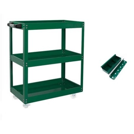 """Mobile Maintenance & Work Center Carts (Frame) - Reinforced, With Tool Shelf, With Screw Box - 28"""" x 14"""" x 30""""_D1778615_main"""