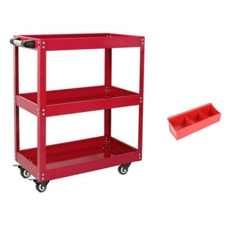 """Mobile Maintenance & Work Center Carts (Frame) - Simple, With Screw Box - 26"""" x 14"""" x 29""""_D1778620_main"""